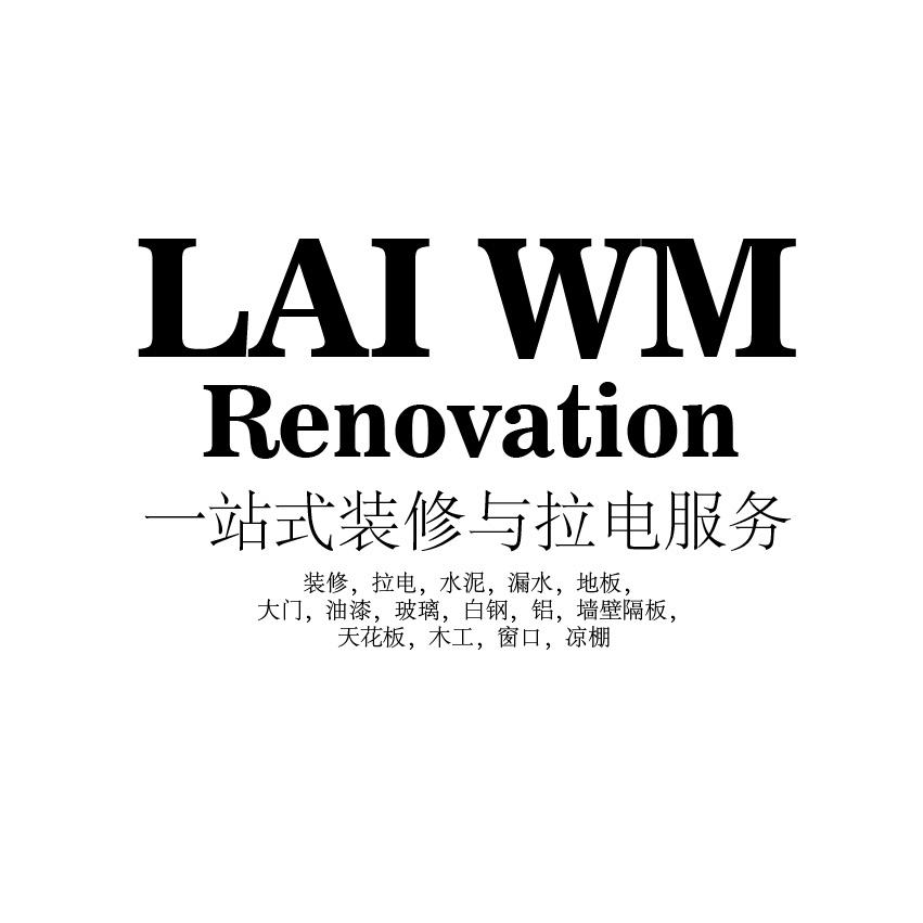 Lai WM Renovation