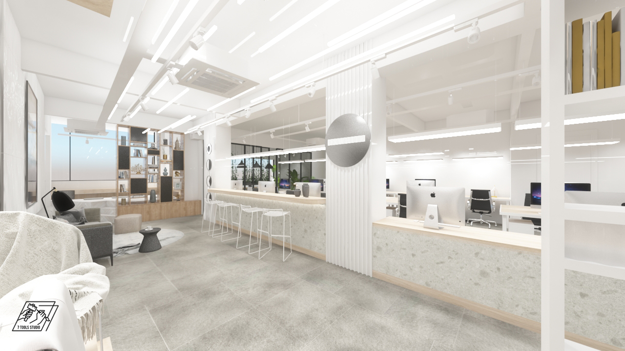 Minimalist @ Shop Lot Office